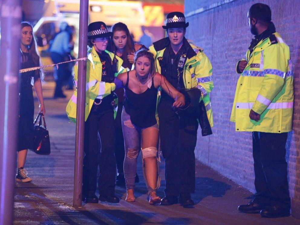 فيديو :22 قتيلا بينهم أطفال في هجوم مانشستر الانتحاري