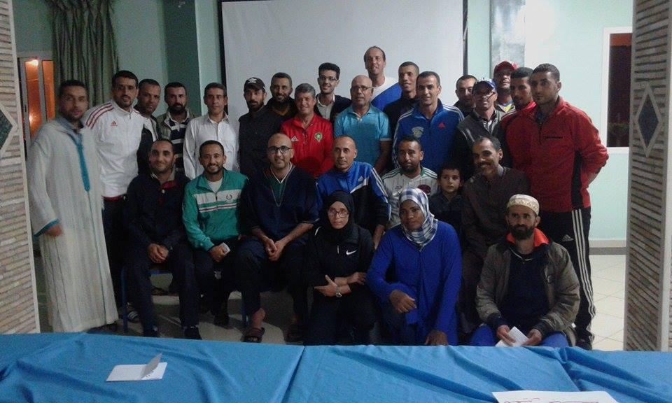 علي إدوفقير رئيسا لجمعية مؤطري ومدربي كرة القدم بإقليم تيزنيت