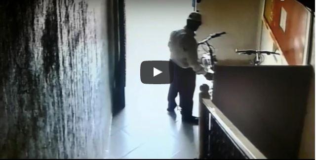 بالفيديو.. كاميرا مراقبة ترصد لحظة سرقة دراجة هوائية داخل عمارة بتيزنيت
