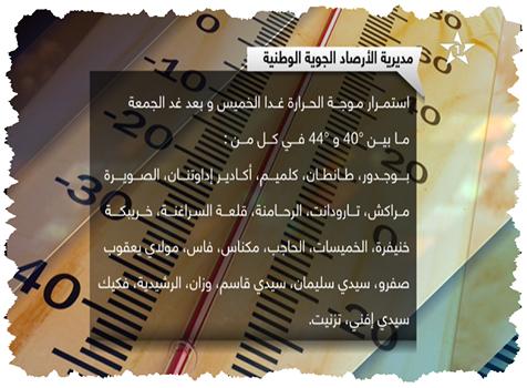 أحوال الطقس ليوم غد الخميس.. استمرار الحرارة في معظم المناطق