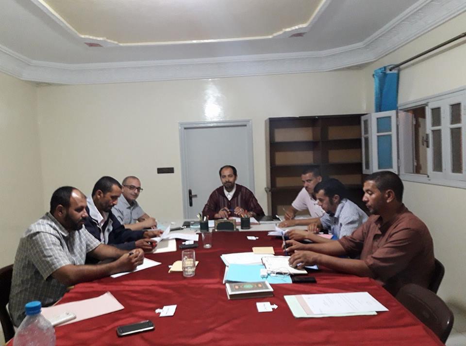 تيزنيت : الكتابة الإقليمية لحزب العدالة و التنمية تعقد لقائين مع اللجنة الإقليمية و منتخبي الحزب