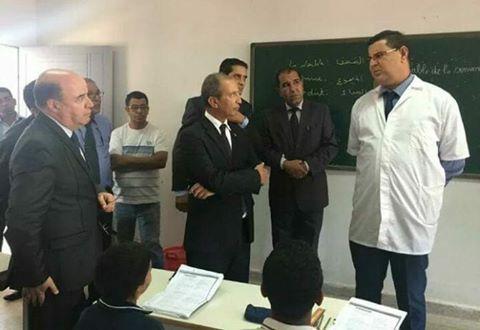 صورة الهبت الفايس بوك.. الوزير والأستاذ الشامخ!