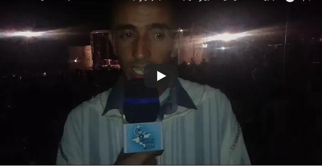 """فيديو : تصريح  لــ """"بوبكر شاكيري"""" رئيس جمعية إمزي يتحدث عن النسخة الثانية من مهرجان """"أجكال"""""""