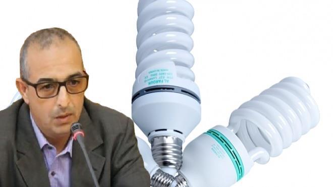 """""""حمسك """"يطالب """" بوغضن """" بإستدعاء مدير الــ ONEE لدورة أكتوبر بعد قيام الوكالة بإرغام الراغبيين في تركيب عدادات جديدة على اقتناء المصابيح الإقتصادية"""
