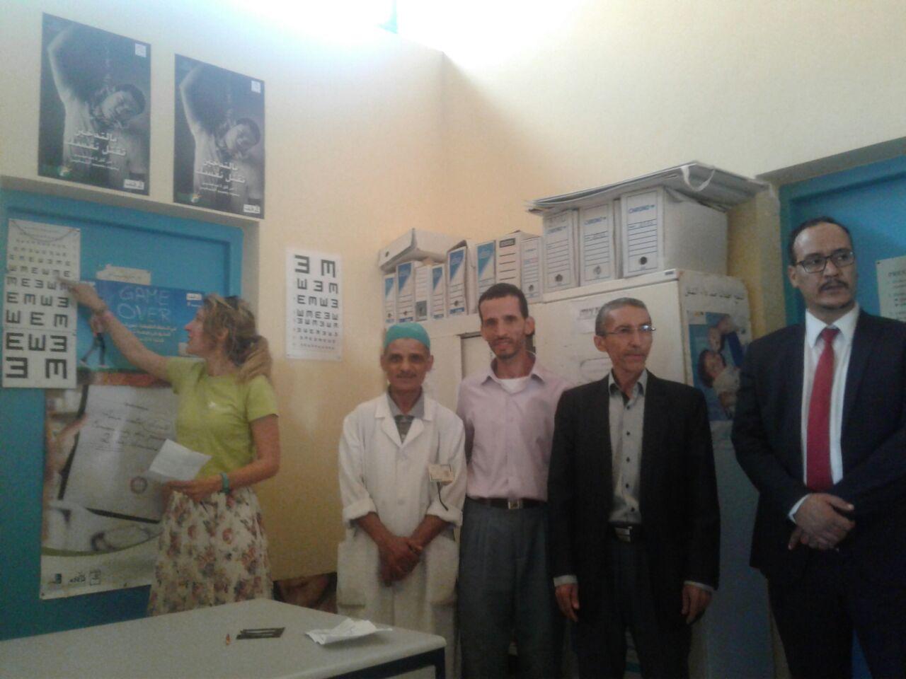 رسموكة : قافلة طبية بفريق طبي بلجيكي تقرب علاج طب العيون و الأسنان لما يقارب من 200 مواطن