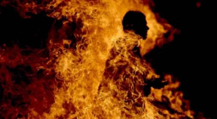 الراشيدية: شخص من ذوي السوابق القضائية يضرم النار في جسده