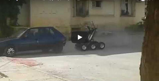 فيديو: لحظة تفجير صندوق سيارة الإرهابيين بفاس للاشتباه في تفخيخها