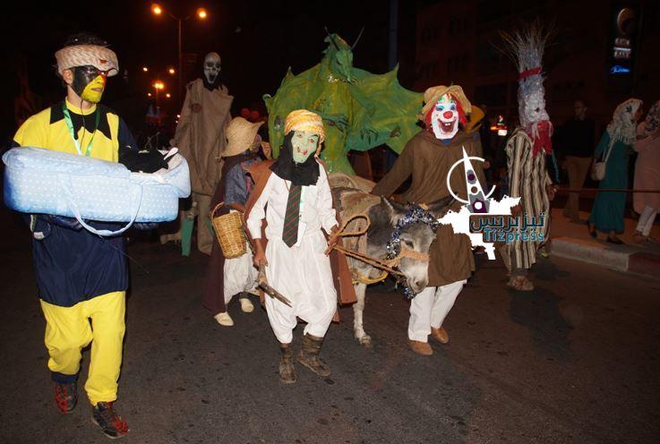 بالصور و الفيديو :ديفيلي كرنفال « ماسكاراد إمعشار » يخلق الحدث بمدينة تيزنيت