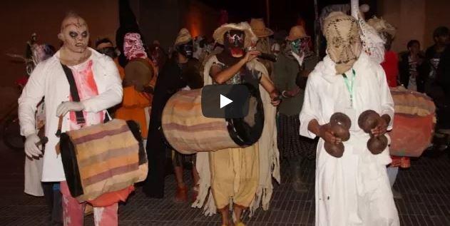 فيديو..:ديفيلي كرنفال « ماسكاراد إمعشار » يخلق الحدث بتيزنيت