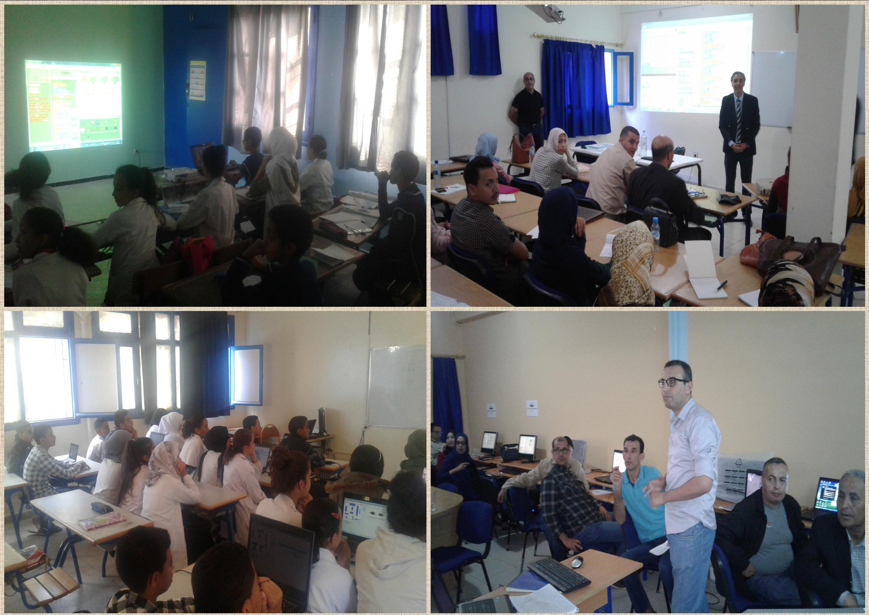 انطلاق النسخة الثالثة من مبادرة اسبوع البرمجة الافريقي Africa code Week 2017 بالمؤسسات التعليمية بمديرية تيزنيت