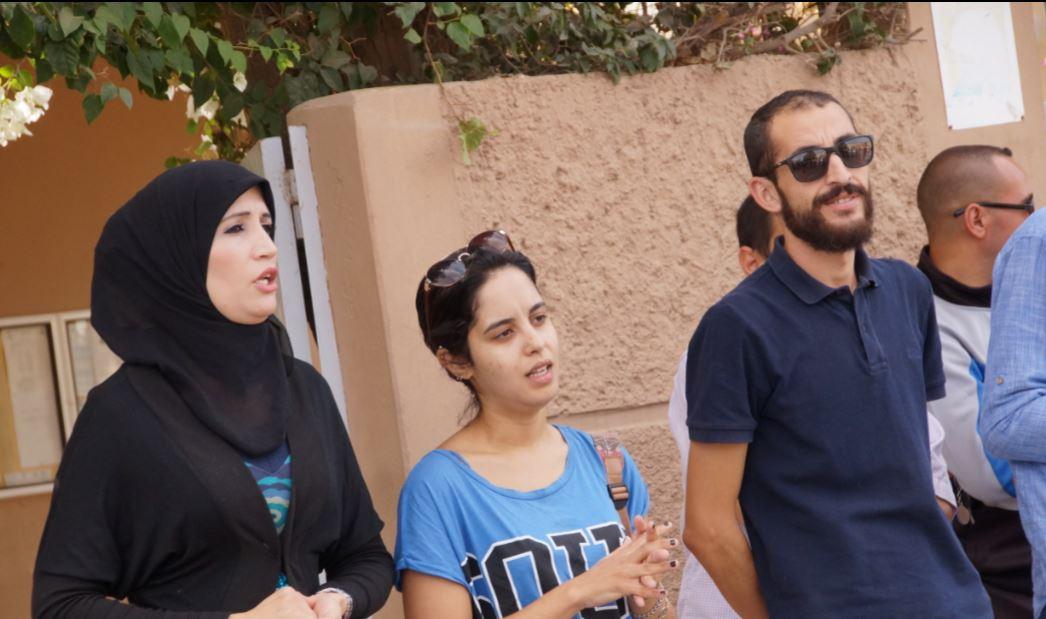تيزنيت : وقفة احتجاجية امام مديرية التعليم للتنديد بالاعتداء على الأساتذة