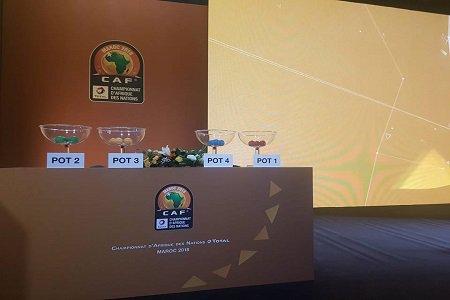"""قرعة كأس أمم إفريقيا للمحليين """"شان"""" تضع المنتخب المغربي في المجموعة الأولى"""