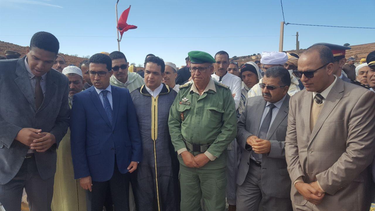 أيت الرخا : تدشين القسم الداخلي بالثانوية التاهيلية عبد الله بن اليزيد السعدي