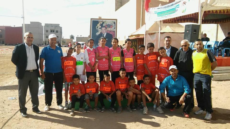 نتائج البطولة الاقليمية المدرسية للعدو الريفي في دورتها 53 بمديرية تيزنيت