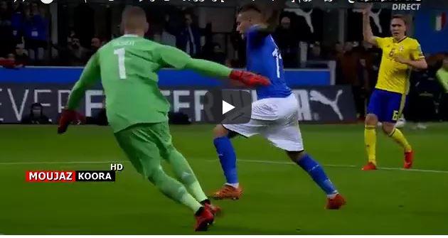 فيديو ..إيطاليا تغيب عن كأس العالم لأول مرة منذ 60 عاما