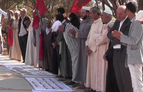 """وثيقة موقعة من """"الأموات"""" تعيد ضحايا لوبي العقار للاحتجاج بأكادير"""