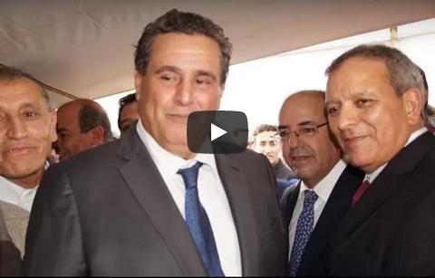 """فيديو : هذا ماقاله """" عزيز أخنوش """" على هامش افتتاحه الدورة الثانية للمهرجان الوطني للمراعي"""