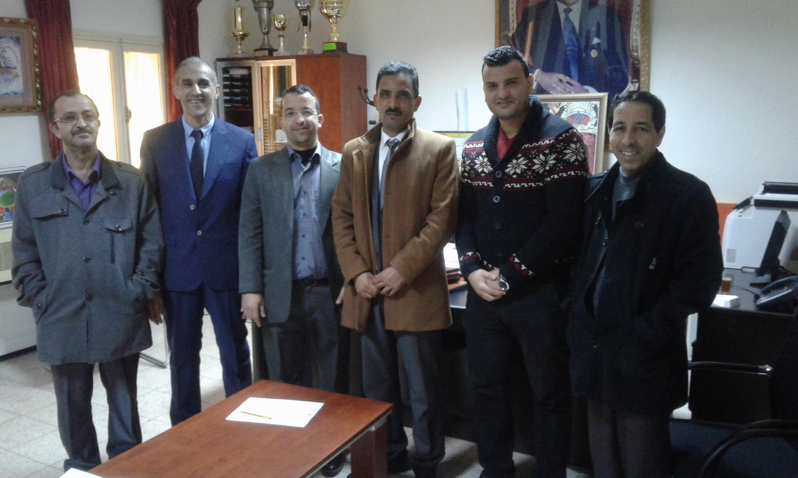 تعيين 3 رؤساء مصالح جدد لشغل مناصب المسؤولية بمديرية تيزنيت