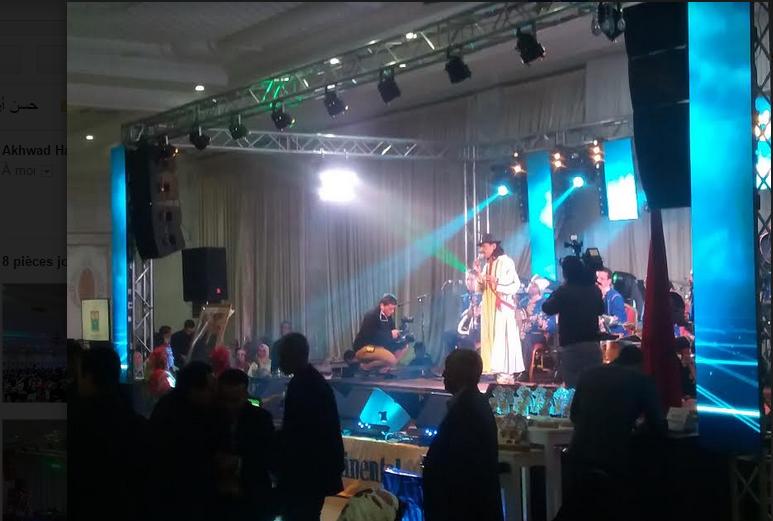 """الرايس حسن أرسموك يلهب جمهور جمعية """"تاليلت"""" في احتفال """"إيض يناير"""" 2968"""
