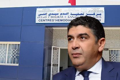 """سيدي إفني:البرلماني « مُصطفى مُشارك » يتدخل في قضية مشاكل مرضى """"الدياليز"""" بالإقليم"""