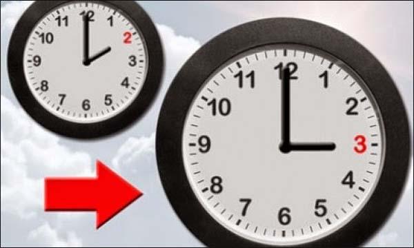 إضافة ستين دقيقة إلى التوقيت الرسمي للمغرب يوم الأحد 25 مارس الجاري