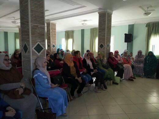تيزنيت : منظمة نساء الأحرار تبدع طريقة جديدة للإحتفال بالمرأة
