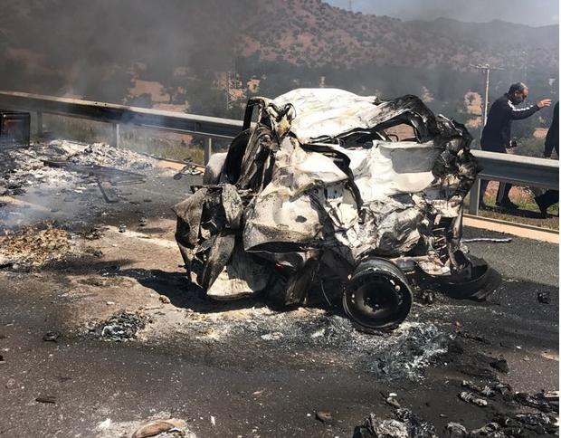 أكادير  :خمسة قتلى ماتوا حرقا حصيلة أولية في حادثة أمسكروض
