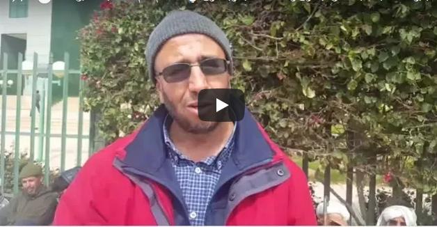 """فيديو :""""ضحايا مافيا العقار"""" ينفذون وقفة احتجاجية ويدخلون في اعتصام أمام استئنافية أكادير"""