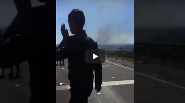 فيديو من زاوية أخرى لحادثة أمسكروض