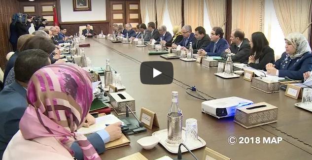 فيديو : تفاصيل مجريات أشغال مجلس الحكومة اليوم الخميس