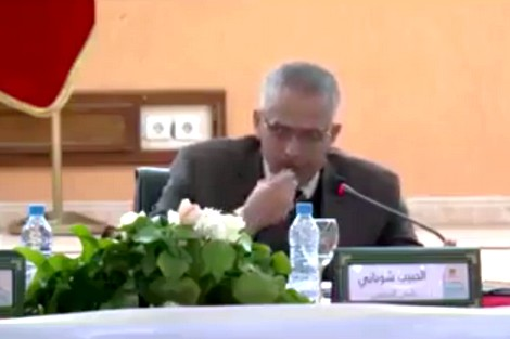"""الشوباني: """"كناكلو اللوز"""" بكل وضوح وشفافية و""""ما كاناكلوش"""" فلوس الشعب (فيديو )"""