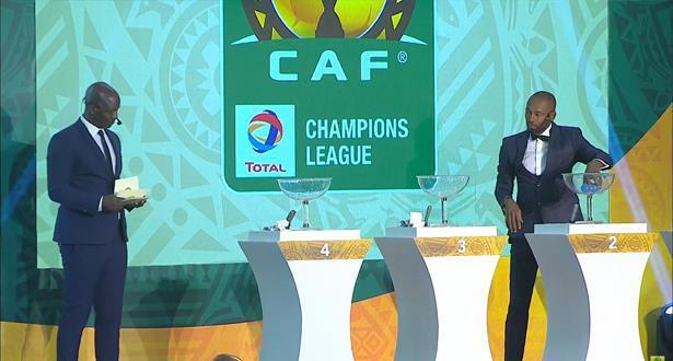 النتائج الكاملة لقرعة مجموعات دوري أبطال إفريقيا لكرة القدم