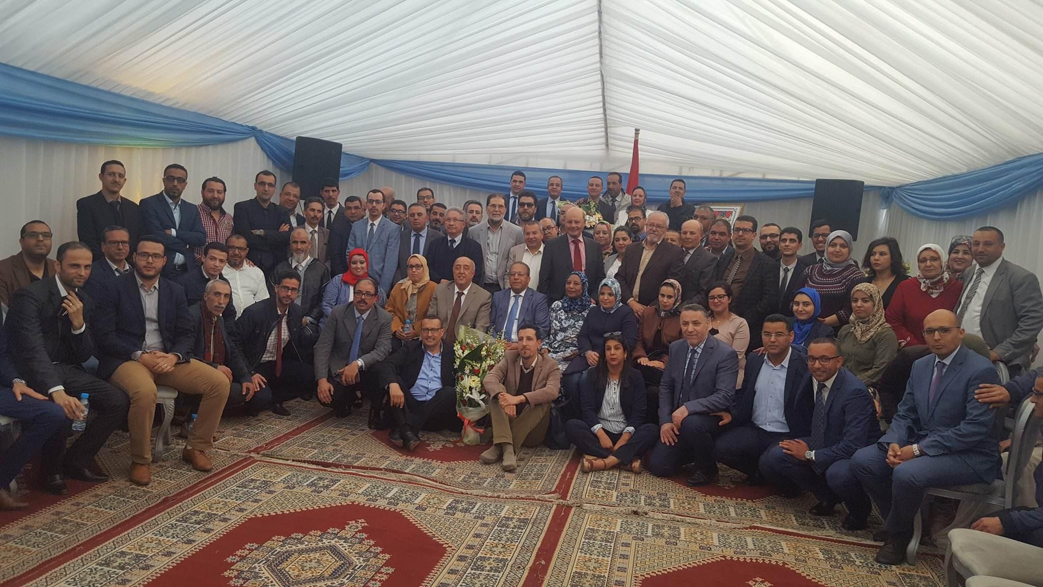 أكادير : مديرية الضرائب تكرم المدير الجهوي السابق علي عبد المالك بحضور المدير الجهوي الجديد