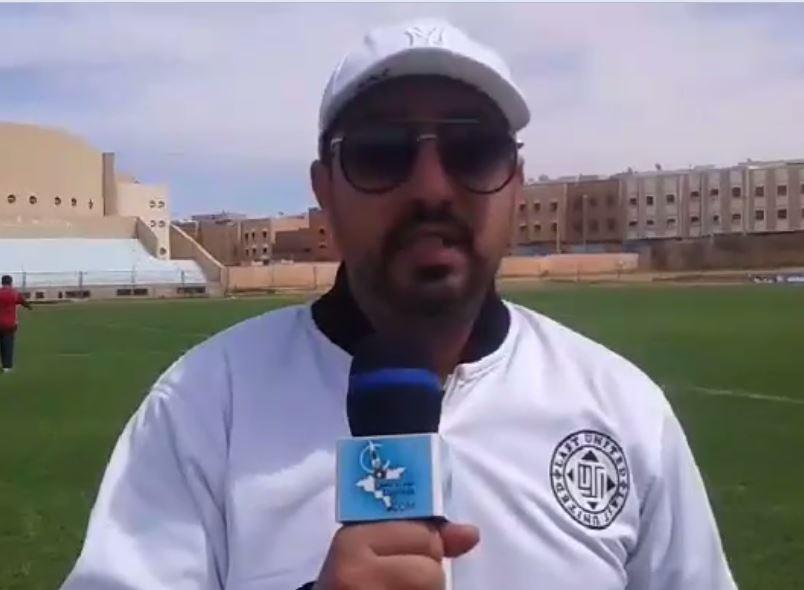 تصريح مدرب رجاء أزيلال جواد المنتصر بعد فوز فريقه على أمل تيزنيت