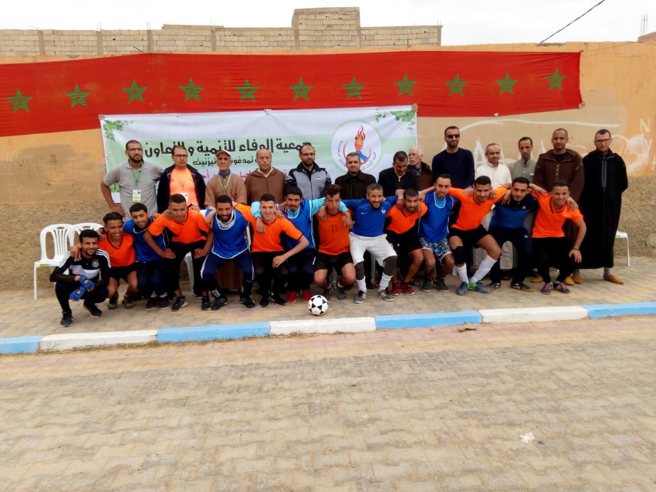 تيزنيت : اعطاء انطلاقة النسخة الرابعة لدوري رمضان لكرة القدم المصغرة بتمدغوست