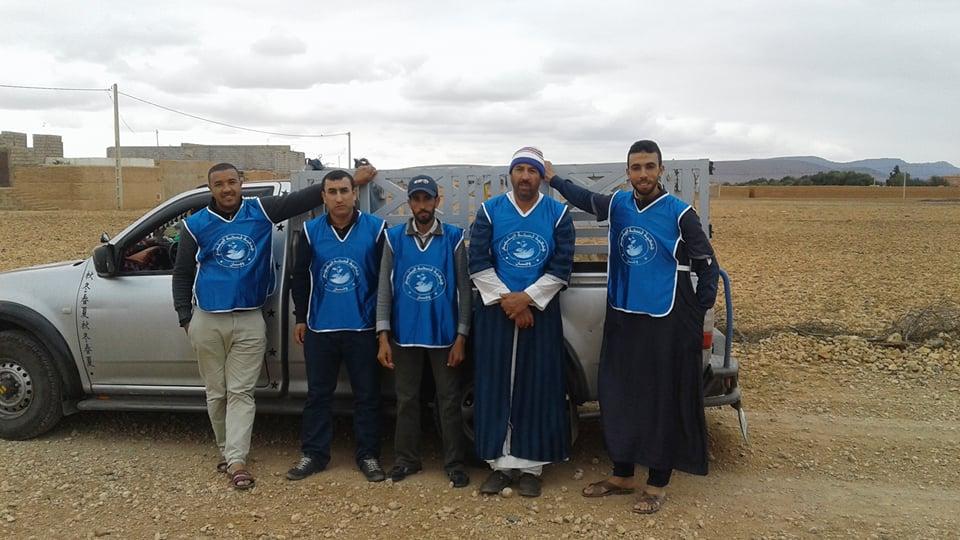 """وجان :"""" قفة رمضان"""" تقليد سنوي لجمعية فسحة اليتيم من أجل مساعدة الفقراء والمحتاجين"""