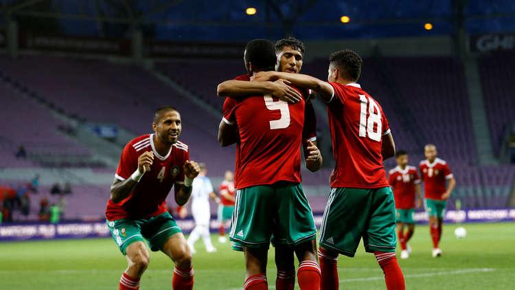 بالفيديو ..المنتخب المغربي يهزم نظيره الإستوني وديا