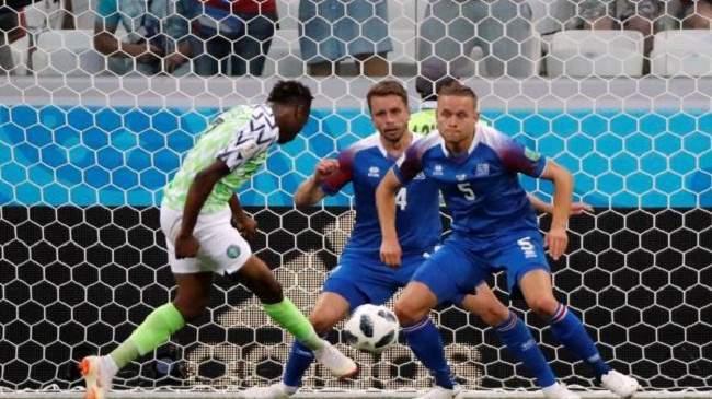 نيجيريا تعقد حسابات الأرجنتين بثنائية في شباك إيسلندا