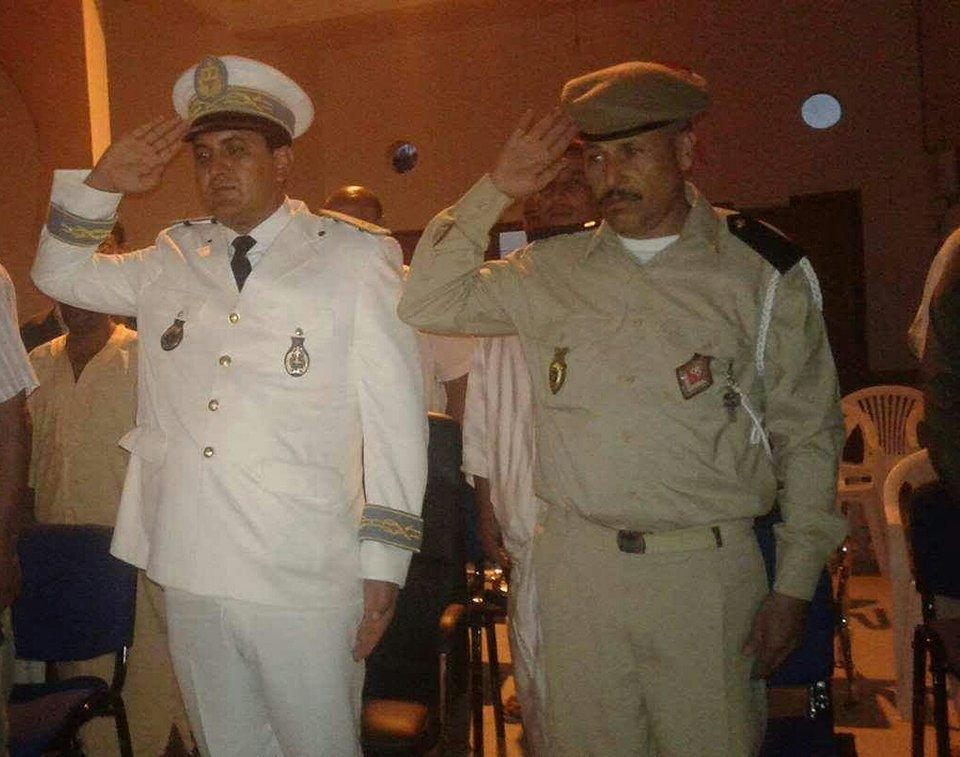 تعيين قائد أولاد جرار عبد الله حميش قائدا بدائرة تيفلت إقليم الخميسات
