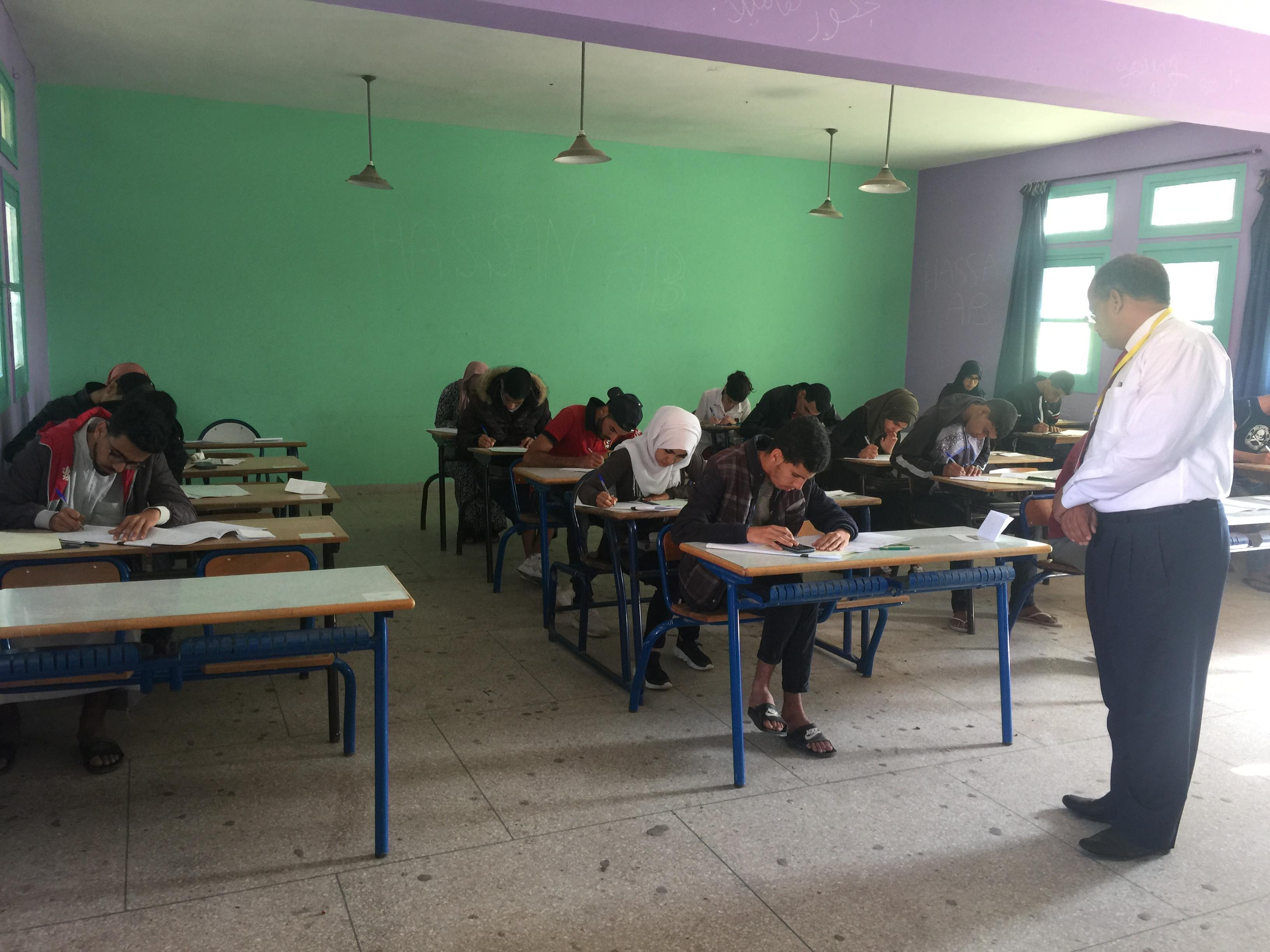اليوم الثالث من امتحانات الباكالوريا بجهة سوس ماسة : ضبط 27 حالة غش