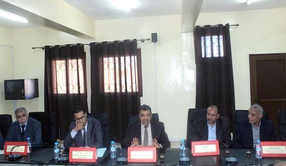 عبد الله بوعرفه يشرف على تنصيب مسؤولين بالمركز الجهوي لمهن التربية والتكوين كلميم واد نون