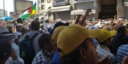 إنطلاق-مسيرة-التضامن-مع-معتقلي-الريف-في-غياب-العدل-والاحسان