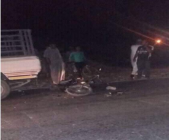 وفاة شابين من أولاد جرار في حادثة سير خطيرة وقعت على مستوى دوار الركادة