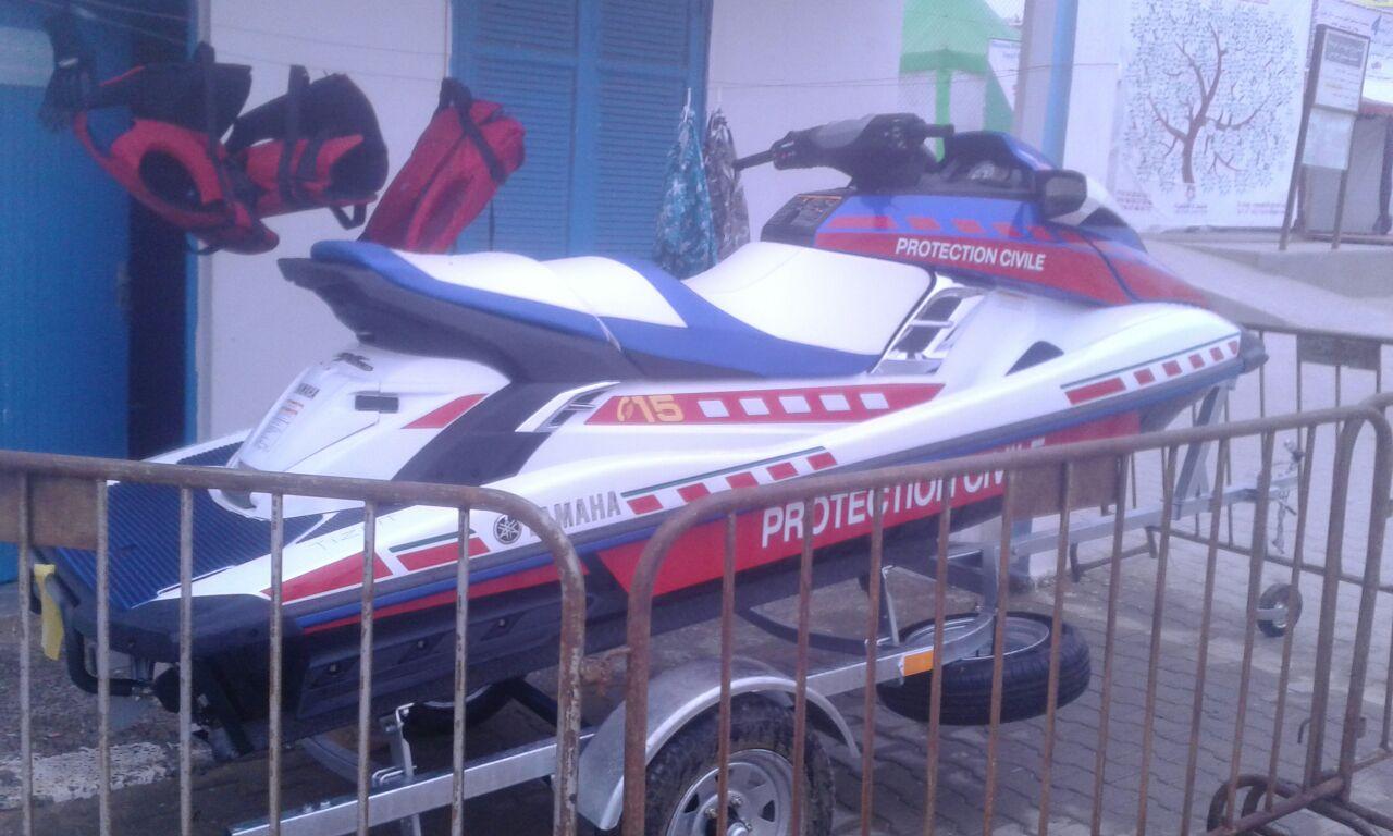 أكلو : لأول مـــرة ..شاطئ سيدي موشى يتعزز بدراجة (Jet Ski ) للإنقاذ من النوع الممتاز