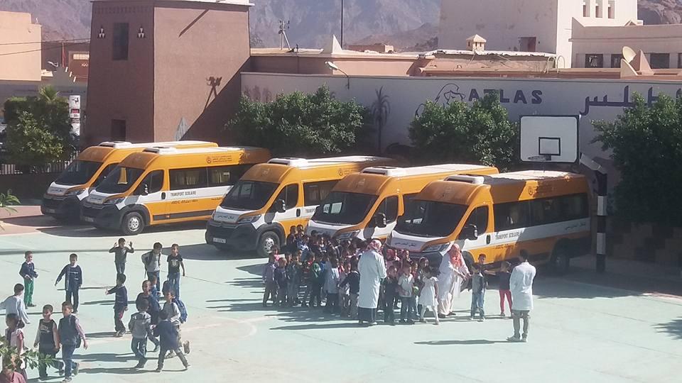 bus et cartables tafraout