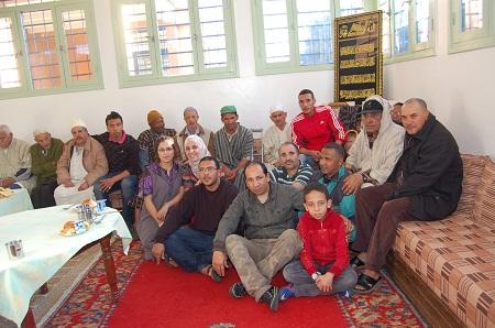 زيارة عائلية لدار الراحة باكادير