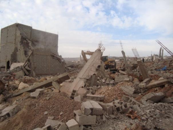 السلطات المحلية تشن حملة شرسة ضد عمليات البناء بقرى ودواوير دائرة أنزي.