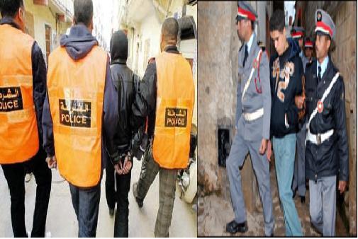الدرك والأمن يلقيان القبض على عصابة قامت بعدة سرقات بمدينة تيزنيت