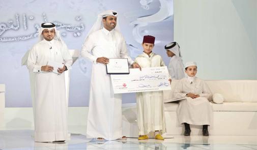 أطفال مغاربة يسيطرون على نهائيات مسابقة للقران الكريم التي تنظمها قناة الجزيرة للأطفال