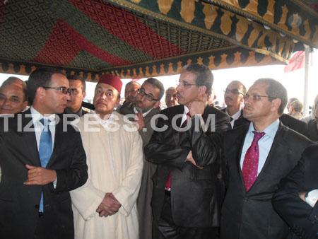 وزير التجهيز يعطي انطلاقة مشاريع كبرى باقليم تيزنيت